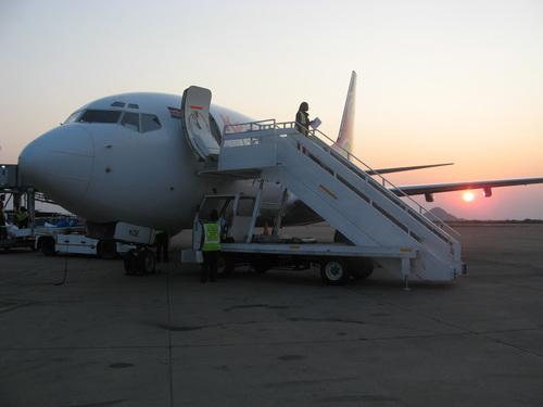 Най-дългоочакваният самолет на Кенийските авиолинии