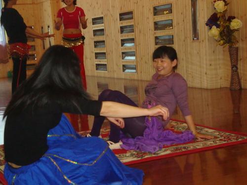 Лин и Уан Юе в почивката