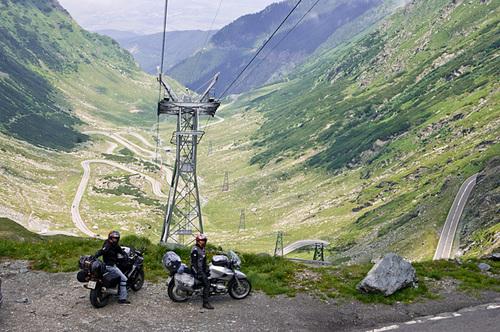 Трансфагаршан - север на слизане