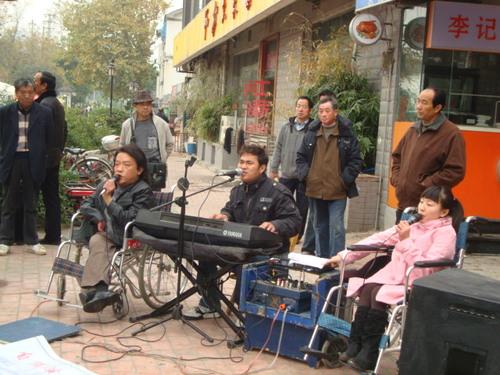 Mузикантите на входа на пазара