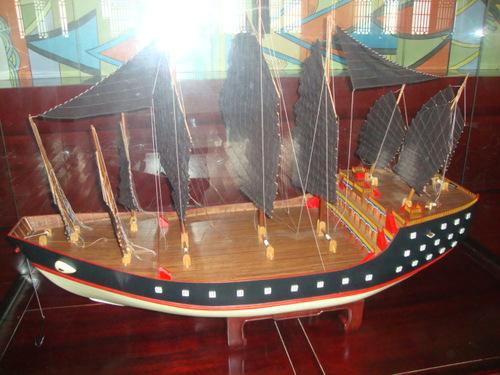 Макет на кораба на Джън Хъ