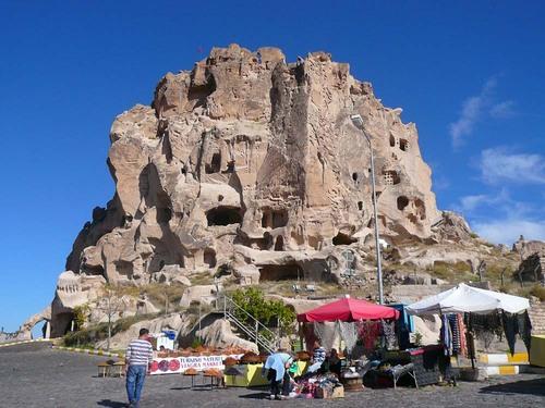 Крепостта Учхисар