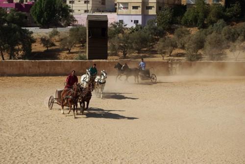 Надбягване с колесници