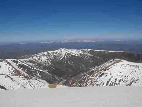 Граничният връх Таштепе-1993 м.