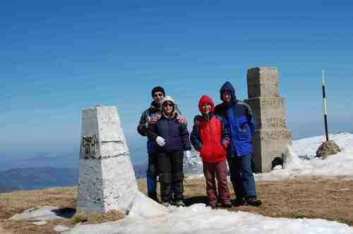 На връх Руен-2251 м.