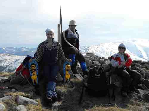На връх Човека-2047 м.