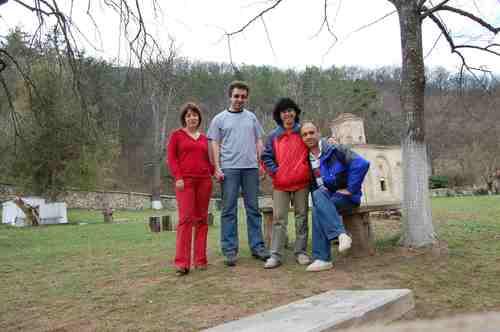 Групата, в края на пътешествието