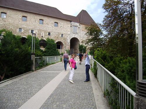 Крепостта Люблянски град