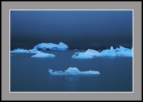 Айсберги в Южния залив