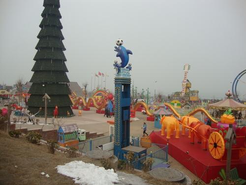 Част от декорацията на парка
