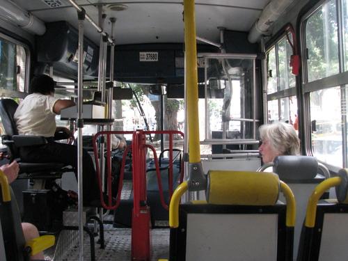 Един от бразилските автобуси с механичен брояч, който трудно може да бъде описан, така че по-добре го вижте!