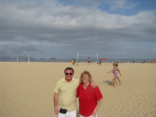 На Копакабана за всеки има по нещо интересно: плаж, волейбол, спортно ходене или просто фотосесии
