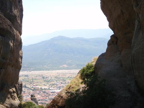 Гледката от манастир Св. Троица