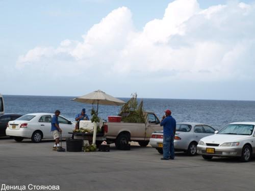 Търговците на кокосови орехи