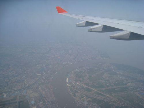 Шанхай отгоре.