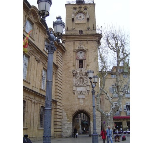 Екс-ан-Прованс  -  Часовниковата  кула