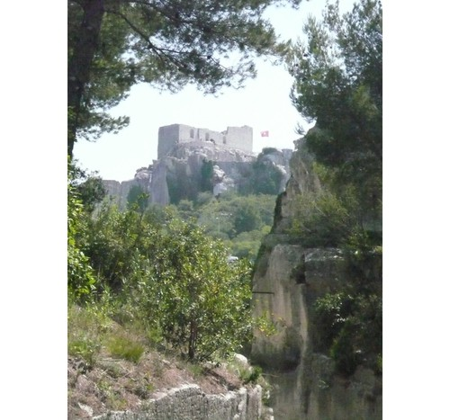 Замъка   в  Ле Бо  дьо Прованс