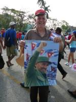 манифестация, Куба, 1 май