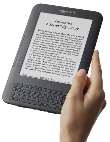 Електронна книга Kindle 3 Wireless Reading Device - Wi-Fi