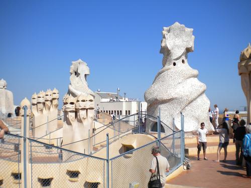 Покривът на Ла Педрера