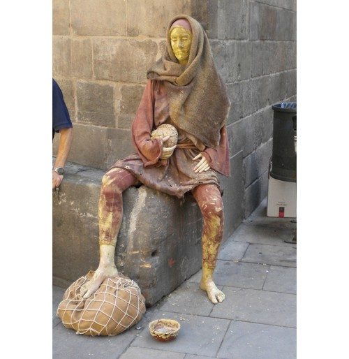 Статуята в Бари Готик