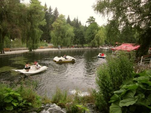 """Изглед от езерото """"Клептуза"""" в квартал Чепино"""
