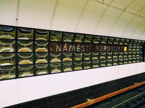 метростанция Náměstí Republiky
