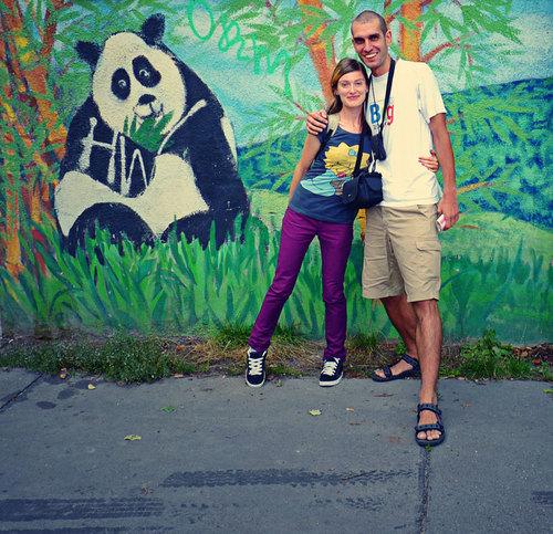 Щастие из улиците на Žižkov