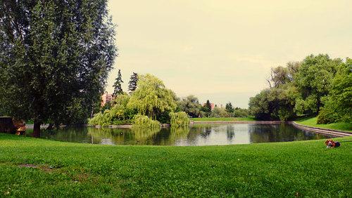 Park u Břevnovského kláštera