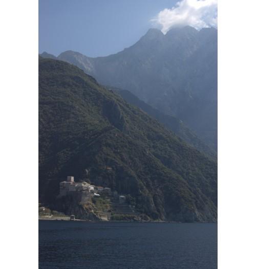 Поглед към Атон - Света гора