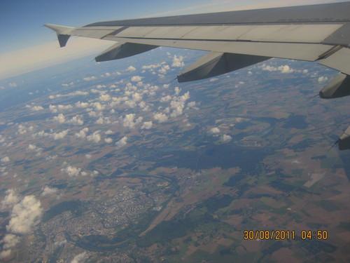 Изглед над Париж