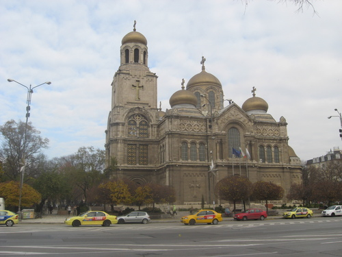 Варна, катедралния храм Свето Успение Богородично