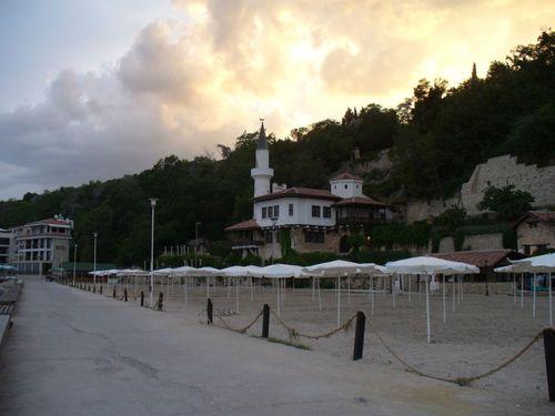 Вечерен изглед на Двореца