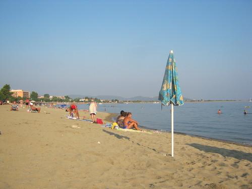 Плажната ивица на Псакудия