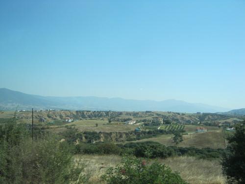 По пътя, преди пристигането в Солун