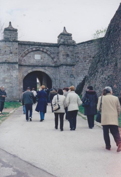 Групата ни пред входа на крепостта Белоградчик