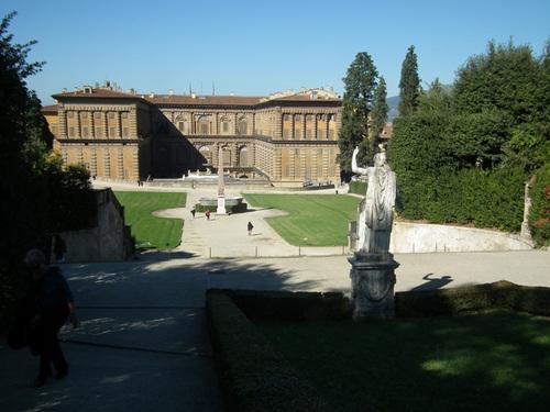 Дворецът Пити и градините Боболи