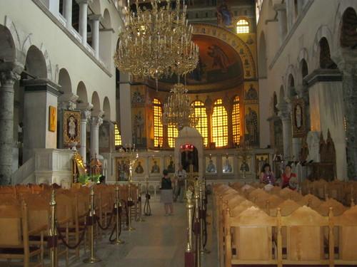 """Църквата """"Свети Димитър"""" – изглед отвътре"""