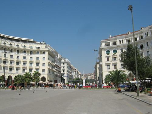 Централната част на Солун