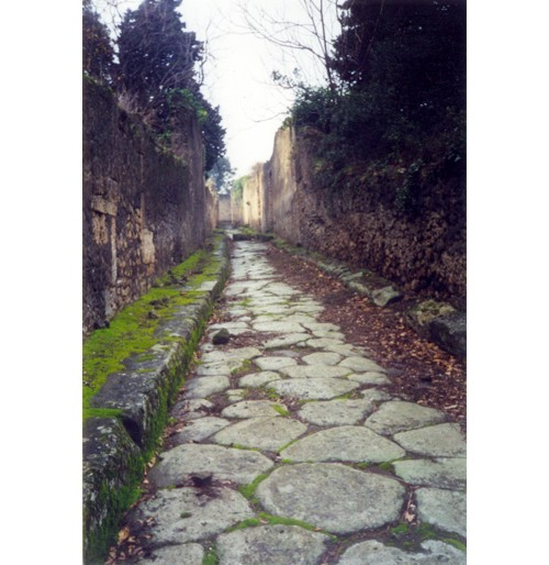 Помпей – Една тиха улица.
