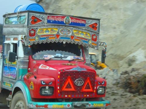 BHUTANESE TRUCK