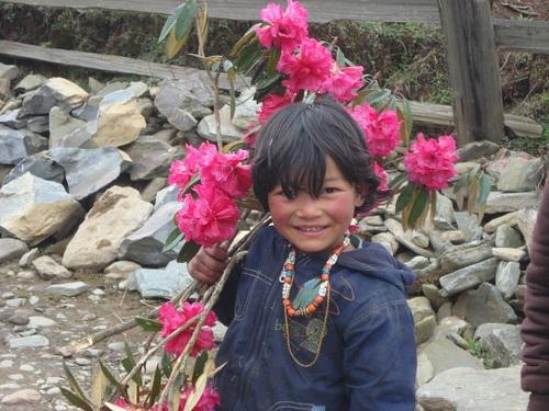 BHUTANESE GIRL