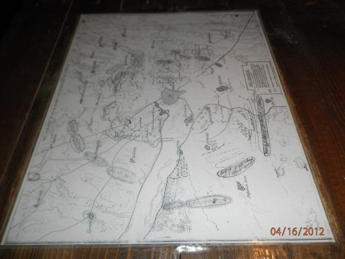 Карта на укреплението