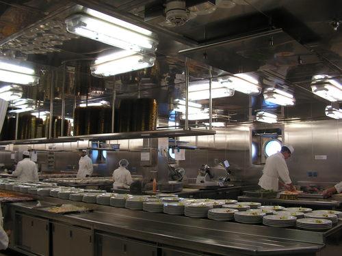 Част от кухнята на кораба