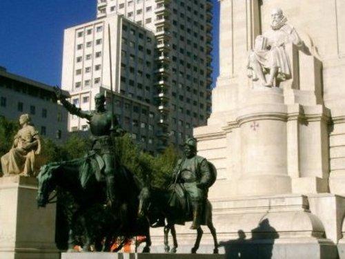 …Сервантес и неговите герои
