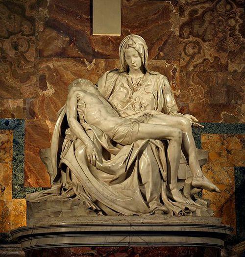 Оригиналът на Микеланджело!