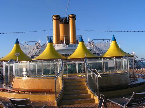 Външно джакузи на борда