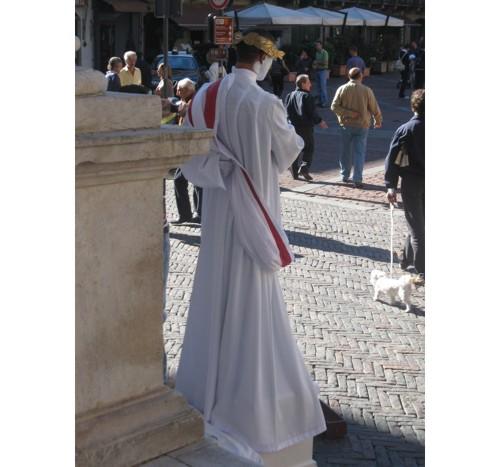 Бергамо. Патриций сред плебеите