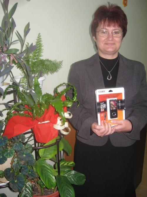 Цветелина Георгиева с наградата на публиката