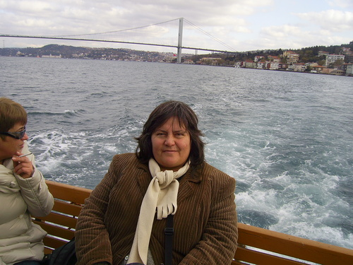 С корабче по Босфора